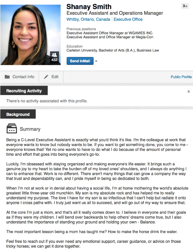 Basics to creating a LinkedIn profile that will stand out